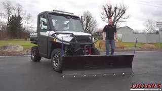 4. Polaris Ranger XP 1000 NorthStar Blizzard Package: King of UTV Plows