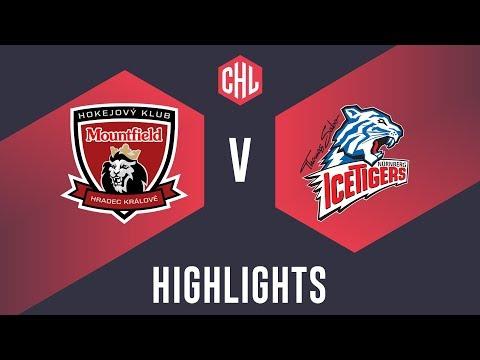 Highlights: Mountfield HK vs. THOMAS SABO Ice Tigers (видео)