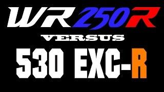 4. WR250R (Tuned 310cc) versus KTM 530 EXC-R (Drag Race)