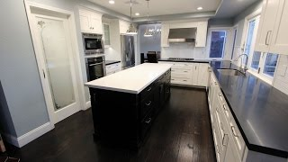 Transitional Design Build Home & Kitchen Remodel in Irvine