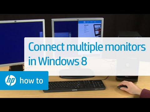 Connecting Multiple Monitors to HP Computers in Windows 8 | HP Computers | HP
