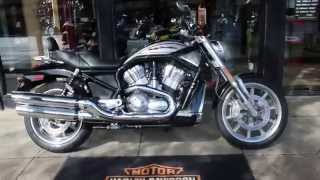 7. 2005 HARLEY-DAVIDSON STREET ROD VRSCR @ West Coast Harley-Davidson, Glasgow, Scotland