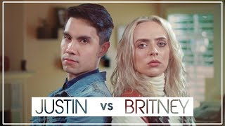 Justin Timberlake VS Britney Spears MASHUP!! ft Sam Tsui & Madilyn Bailey