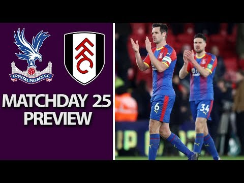 Video: Crystal Palace v. Fulham   PREMIER LEAGUE MATCH PREVIEW   2/2/19   NBC Sports