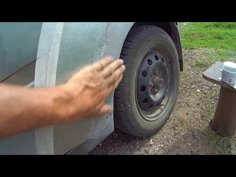 2. Ремонт кузова автомобиля Lada kalina (покраска) (видео)