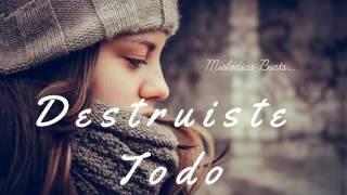 Destruiste Todo  Base De Rap Romantico Pista Beat Instrumental Triste  Mielodias