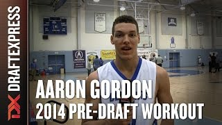 Aaron Gordon 2014 NBA Pre-Draft Workout & Interview HD DraftExpress