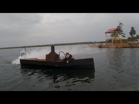 Паровая лодка - DomaVideo.Ru