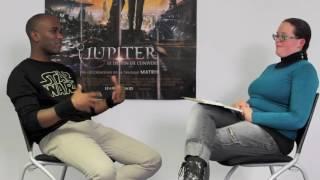 Interview for L'étrange Librarium at Cap'Cinéma in Carcassonne