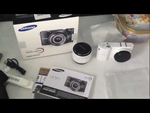 Unboxing Samsung NX 1000
