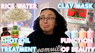 Video Testing POPULAR Curly Hair HACKS! | Aztec Indian Clay Mask,Function of Beauty & More | aliyah simone MP3, 3GP, MP4, WEBM, AVI, FLV Agustus 2019