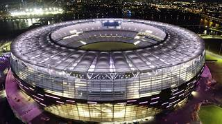 Optus Stadium Light Show