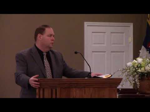 Good evening messages - Philippians Only By Faith - Pastor Ricky Brown - Wednesday Evening, February 21, 2018