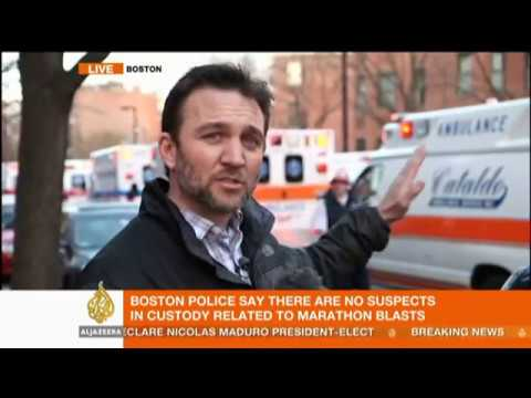 Witness speaks about Boston Marathon explosion