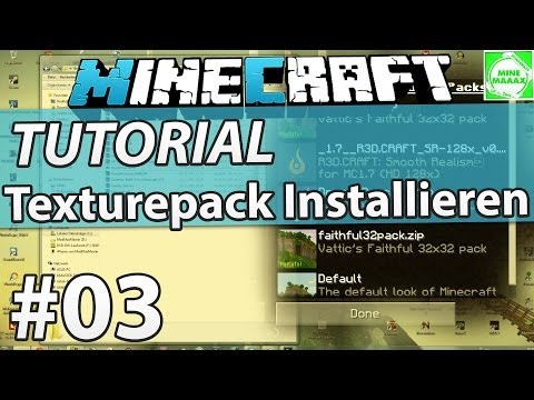 [1.7.10] Minecraft Texturepack Installieren (Resourcepack) - Tutorial + Download [Deutsch/HD]
