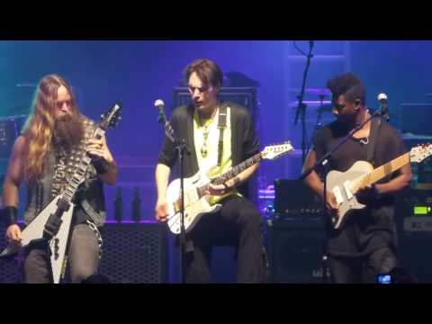 """frankenstein"" Steve Vai & Bettencourt & Zakk Wylde@count Basie Red Bank, Nj 5/9/16"