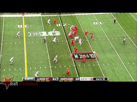Joey Bosa vs Maryland 2014 video.