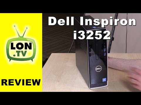 Dell Inspiron i3252 Review - Low cost mini-PC alternative with 1 TB of storage  (i3252-7550BLK)
