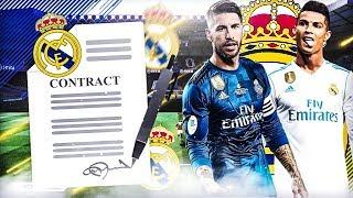 Video FIFA 18 | CARRIÈRE REAL MADRID : ACCEPTER TOUTES LES OFFRES CHALLENGE ! MP3, 3GP, MP4, WEBM, AVI, FLV Oktober 2017