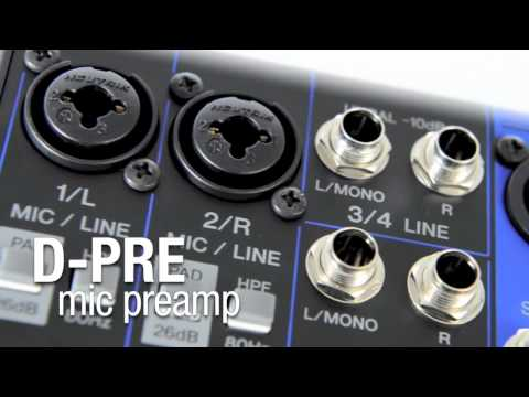 Yamaha MG06 Compact Mixer - Soundsliveshop.com