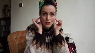 How to rock a headscarf- an easy tutorial