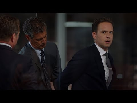 Mike resigning and getting arrested | Suits 5x10
