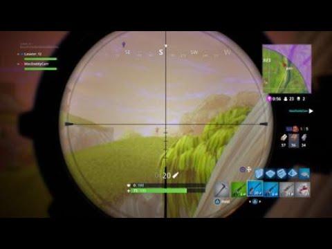 LONGEST SNIPER KILL ON RUNNING ENEMY!   Fortnite Battle Royale  