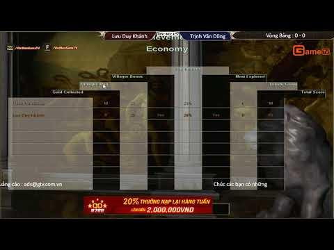 AOE | Liên Tỉnh Lào Cai vòng bảng Lưu Duy Khánh vs Trịnh Văn Dũng ngày 23 09 2017.BLV:G_Myp