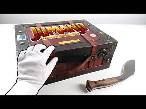 Jumanji The Video Game Unboxing (Collector's Box) + Gameplay