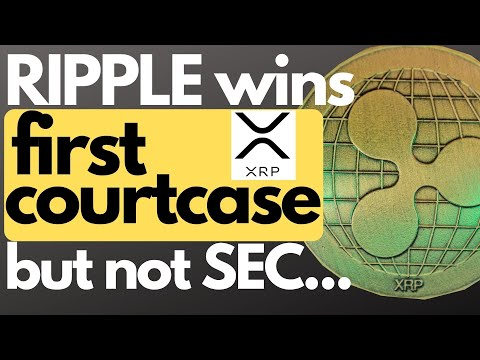 XRP: finally ripple wins a case, SEC blames exchanges for delisting