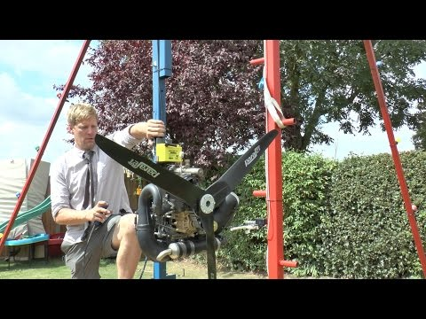 Colin Furze Adds a Propeller to His Giant 360