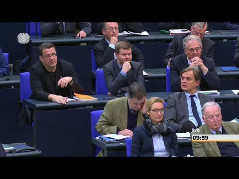 Bundestag - 2. März 2018 - Debatte über Deutsch als Landessprache