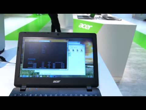 IFA 2014 | Acer E11 ES1 Low Cost Windows Laptop Hands On Video