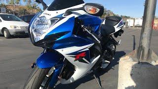 9. Getting my new Motorcycle! 2012 Suzuki GSXR 600