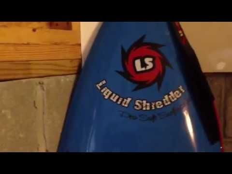Liquid Shredder Kids Surfboard