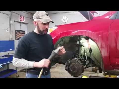 Replace Front Struts – Toyota Rav4