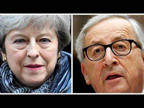 «Όχι» του Γιούνκερ στη Μέι για παράταση του Brexit