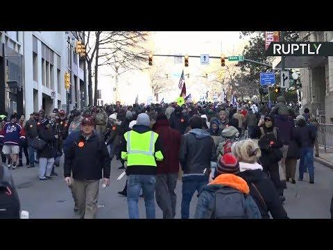 Video - ΗΠΑ: Μεγάλη διαδήλωση υπέρ της οπλοκατοχής στη Βιρτζίνια
