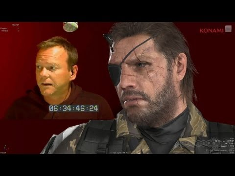 Kiefer - Konami has announced that Kiefer Sutherland will be the voice of Snake in MGS V: The Phantom Pain. Follow Metal Gear Solid V: The Phantom Pain at GameSpot.co...