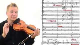 Don Juan Violin Excerpt Lesson: How to Practice and Perform (ch. 2)