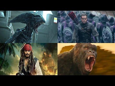 Топ 10 Самых ожидаемых фильмов 2017 года Часть 2 (видео)