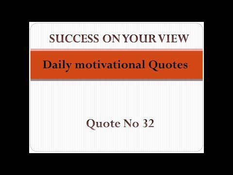Encouraging quotes - Daily motivational Quotes  Quote no 32 Success on your View Motivational channel Success videos