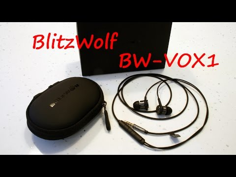 Гибридые наушники Blitzwolf BW-VOX1