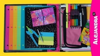 Back to School Organizing Tips: Binder & School Notebook Organization