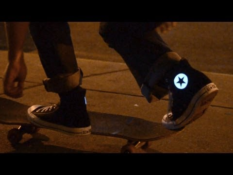 HOW to make glowing Converse