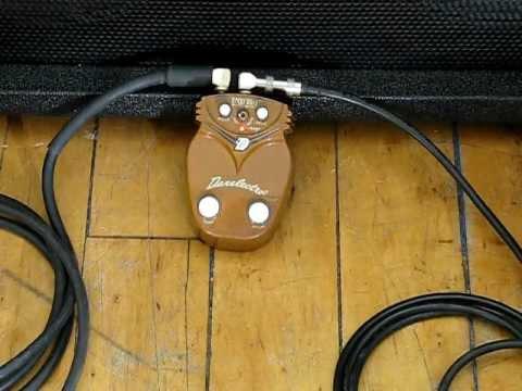 Jason Crawford: 8-string guitar. Danelectro Rocky Road pedal demo
