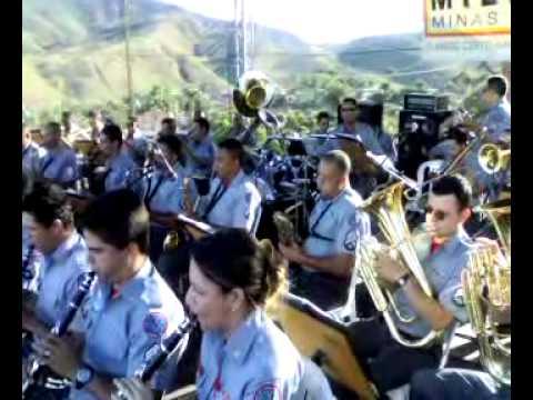 Banda de Musica CBMMG em Acaiaca  MG 12/09/2009