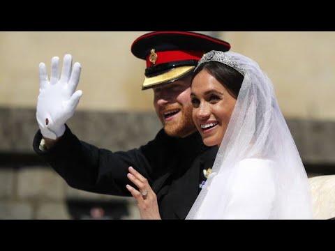 العرب اليوم - شاهد:زفاف ملكي للأمير هاري وميغن ماركل