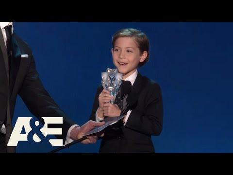 Jacob Tremblay Wins Best Young Actor/Actress | 2016 Critics' Choice Awards | A&E