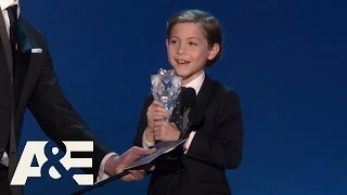Nonton Jacob Tremblay Wins Best Young Actor Actress   2016 Critics  Choice Awards   A E Film Subtitle Indonesia Streaming Movie Download